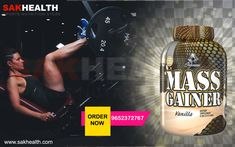 Mass Gainer is essential to stimulate Anabolic activity and support post workout recovery. Enhanced formula with isolate whey protein and whey concentration protein. Nutrition Store, Sports Nutrition, Whey Protein Concentrate, Mass Gainer, Whey Protein Isolate, Post Workout, Recovery, Vitamins, Activities