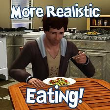 More Realistic Dining For Sims by Wee Albet Sims 4 Body Mods, Sims 3 Mods, Sims 1, Sims Cheats, Sims 3 Cc Finds, Free Sims, Sims Games, Dining, Content