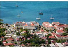 Print of Charlotte Amalie, St. Thomas, US Virgin Islands St Thomas Virgin Islands, Us Virgin Islands, Solar Panels, Photo Wall Art, Paris Skyline, Poster Size Prints, Caribbean, Photo Mugs, Dolores Park