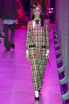 40c22debbb0e6  DéfiléGucci  fashion  Koshchenets Défilé Gucci prêt-à-porter femme automne-