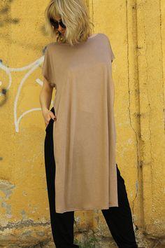 SEDA Extravagant asymmetrical loose tunic by Comfortissimo on Etsy, $45.00