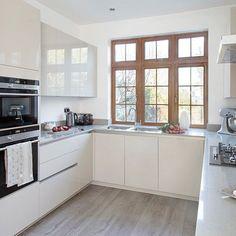 All white kitchen design!