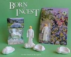 'BORN OF INCEST' Oracle Ruben bootleg resin figure from Six Foot Turkey Toys! #Bootleg #Movie #Resin #SixFootTurkeyToys #SpankyStokes