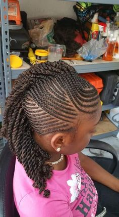 Searching for braids hairstyles for little girls? You have come to the right place. We have compiled 20 fabulous braids hairstyles for little girls. Braided hairstyles for little g Natural Hairstyles For Kids, Kids Braided Hairstyles, Little Girl Hairstyles, Natural Hair Styles, Short Hair Styles, Black Hairstyles, Black Children Hairstyles, Mohawk Styles, Beautiful Hairstyles