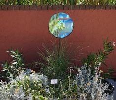 Saguaro Cactus design Garden Stake created by AMusinGlass by Pilisa