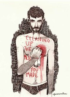 tabula rasa (cleaning up the mess you made). 2013