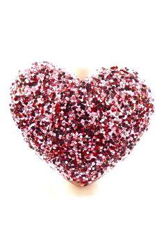 Glitter Heart Ring
