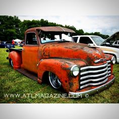"""""""I'd love to own an early 50s chevy in the future. Spotted this beauty at Camp n…"""