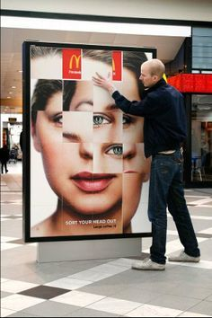 interactive billboard bus stop. For conceptualization and custom printing, visit www.unifiedmanufacturing.com