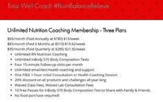 Today at 4pm - Weight Loss with Whole Food & Unlimited Nutrition Coaching