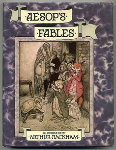 Arthur Rackham - Aesop's Fables - Cover    Published by 'Books for Children' in 197