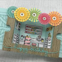 Cool Paper Crafts, Paper Crafts Origami, Diy Crafts Hacks, Diy Crafts For Gifts, Fancy Fold Cards, Folded Cards, Tarjetas Diy, Pop Up Cards, Kirigami