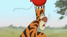 So You Think You Can Tigger? Disney Pixar Movies, Disney Cartoons, Disney Characters, Winnie The Pooh Quotes, Winnie The Pooh Friends, Cute Cartoon Drawings, Walt Disney Pictures, Pooh Bear, Disney Fun