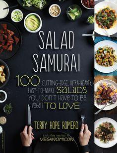 Vegan Latina Strikes Again - Salad Samurai!  New giveaway on the blog! !