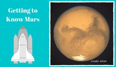 Learning about planets is interesting but learning about Mars particularly is something more. Mars is a planet close to Earth and one of the planets that people are more likely to consider living on College Hacks, College Life, Red Planet, Interesting Information, Getting To Know, Study Tips, College Students, Nasa, Planets