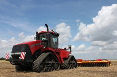 The new Quadtrac 620, the largest #tractor ever offered by #Case IH, will be unveiled at Agritechnica.