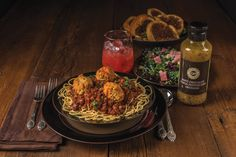 Cocoa Cucina Dinner This dinner enhances classic Italian dishes with the essence of chocolate. Featuring Cocoa Roma Pasta Sauce, Cocoa Spice Garlic Bread, Kale & White Bean Salad, and refreshing White Chocolate Ra…