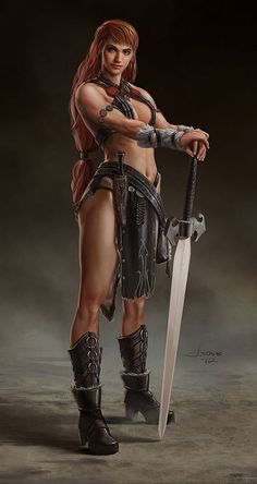 Warrior Girl by *dustsplat