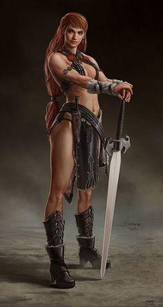 Warrior Girl by *dustsplat