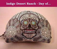 Indigo Desert Ranch - Day of the Dead Coin Purse - Leather Catrina Blk/wht. Day of the Dead (Spanish: Día de Muertos) is a Mexican holiday celebrated throughout Mexico, in particular the Central and South regions, and by people of Mexican ancestry living in other places, especially the United States. It is acknowledged internationally in many other cultures. The multi-day holiday focuses on gatherings of family and friends to pray for and remember friends and family members who have died...