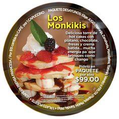 #LosMonkikis de lo más NUEVO en el menú de El Ocho Café Recreativo.