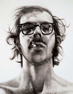 Famous Self-Portraits Art History Chuck Close Famous Self Portraits