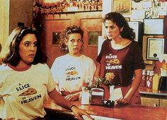 Ahh the story of love, pizza, and ugly clothing! <3 Mystic Pizza