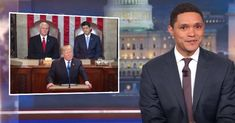 Trevor Noah Has An Amusing Theory About Donald Trumps SOTU Teleprompter