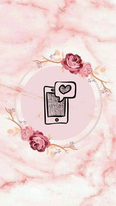 Instagram Prints, Instagram Logo, Instagram Feed, Wallpaper Quotes, Iphone Wallpaper, Marble Effect Wallpaper, Love Picture Frames, Butterfly Birthday Party, Instagram Highlight Icons