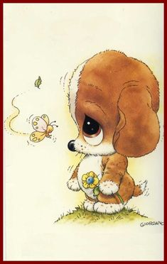 Illustration Mignonne, Cute Illustration, Watercolor Illustration, Creative Pictures, Cute Pictures, Baby Animals, Cute Animals, Art Mignon, Baby Clip Art