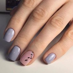Ideas de manicura: cálida, fina y suave, ideal para esta primavera...