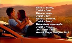 happy new year wishes happy new year wishes for friends happy new year love message