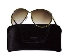 Tom Ford - Francesca Women's Sunglasses Brand New - Gold