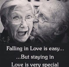 I love seeing old couples so crazily in love. A beautiful reminder that love is ageless, timeless:)