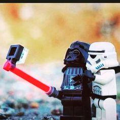 #selfie #stick #lego #starwars