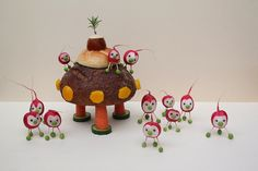 Mars invasion #cute #food #kawaii