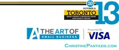The Art Of:  Small Business Presented by Visa http://www.christinepantazis.com/the-art-of-small-business-presented-by-visa