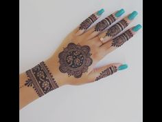 Easy Henna Design for Your Hands – Henna Tattoos Mehendi Mehndi Design Ideas and Tips Henna Hand Designs, Eid Mehndi Designs, Pretty Henna Designs, Mehndi Designs Finger, Beginner Henna Designs, Mehndi Designs For Girls, Mehndi Design Photos, Mehndi Designs For Fingers, Mehndi Patterns
