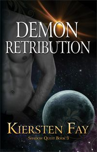 Demon Retribution Book Cover - With danger drawing near, Kyra must set aside years of mistrust and put her life in Cale's hands.