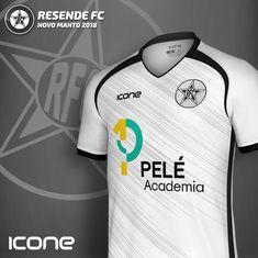 483b2bd15 Uniforme 1 2018 do Resende FC - RJ. Produzida pela Icone Sports o melhor  material