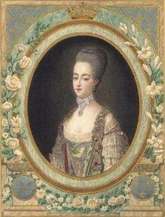 Portrait of Marie Antoinette