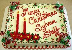 Festive Greetings On Cake Central