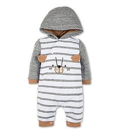 Baby-Overall in der Farbe weiß / grau bei C&A