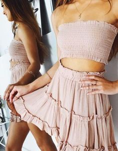 Chic and casual outfits 2019 charming, spring summer outfits ideas nice gorgeous teen fashion outfits Summer Outfits For Teens, Casual Summer Outfits, Trendy Outfits, Boho Spring Outfits, Outfit Summer, Casual Dresses For Teens, Pretty Teen Dresses, Holiday Outfits, Trendy Dresses