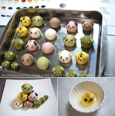 Japanese Sweets, Japanese Food, Asian Desserts, Mini Desserts, Cute Food, Yummy Food, Baby Shower Appetizers, Mochi Recipe, Mochi Ice Cream