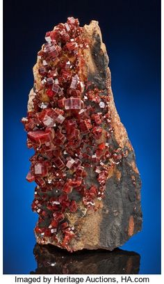 Minerals:Crystals, VANADINITE. ...