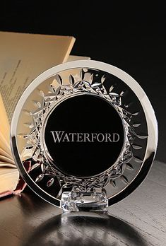 Waterford Crystal, Giftology Lismore Round Mini Frame