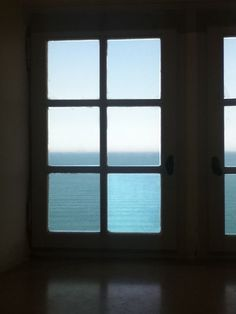 The window in Picasso's old studio, Antibes.