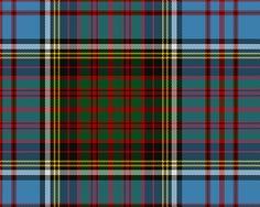 Anderson Clan TartanWR1393