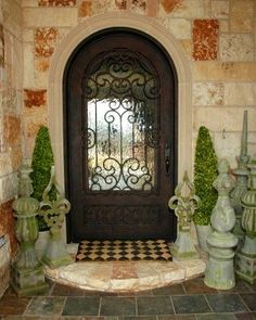 1000 Images About Mediterranean Doors On Pinterest